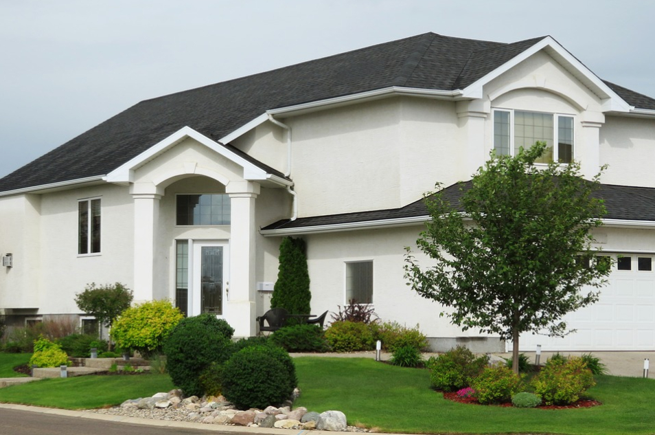 this image shows roof replacement in langley bc