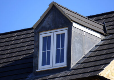 this image shows built up roofing in langley bc