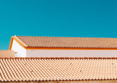 this image shows langley tile roof